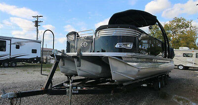 2016 AVALON Pontoon Boat LUXURY & SPEED Ambassador Rear Lounge