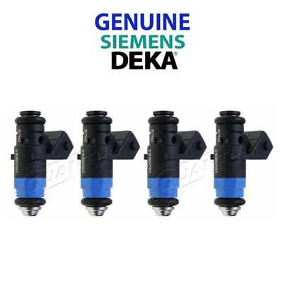 NEW GENUINE Siemens Deka 630CC 60lb Injectors SHORT FI114962 107-962 (4)