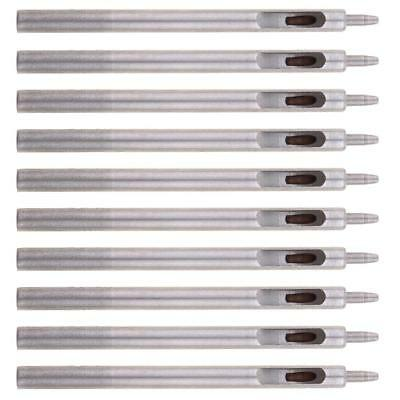 10x 1.5mm Sharp Hollow Hole Round Punch Tool for Leather Belt Fabric Plastic