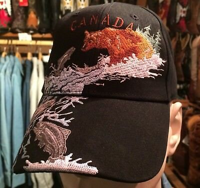 CASQUETTE Ours USA - WESTERN - COUNTRY **SUPERBE PROMO**