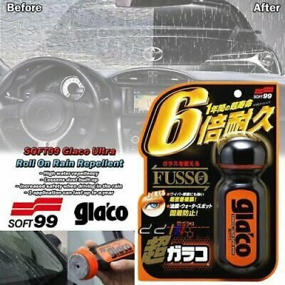 SOFT99 Ultra Glaco Long Lasting Windshield Glass Mirror Rain Water Repellent