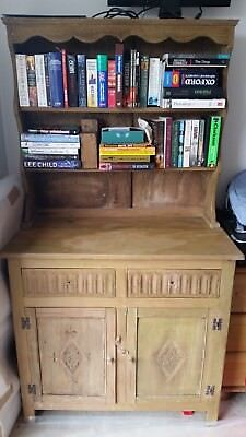 Stripped Oak Welsh Dresser