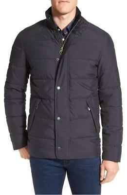 NWT Barbour Men's Navy LYBSTER Quilt Jacket sz XL