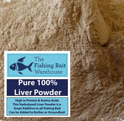 100% Pure Liver Powder 5kg - Fishing Bait, Boilies, Groundbait, Carp, Tench