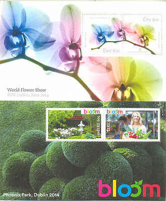 Ireland- Flower Festivals 2014 2 min sheets mnh