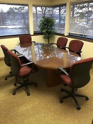CONFERENCE ROOM TABLE PicClick - Glass top conference room table