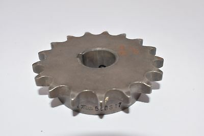 Martin Sprocket & Gear 50BS17 1 1 in Finished Bore with Keyway & Setscrew