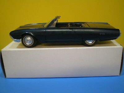 1962 Thunderbird Convertible Promo by AMT in Metallic Blue
