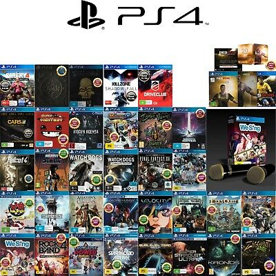 🎮PlayStation 4 PS4 ●● ASSORTED AWESOME GAME TITLES ●● Your Choice  20/04/18