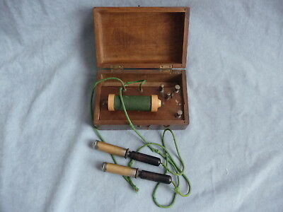 antique quack medical coil electric shock therapy stimulator machine 1900s works