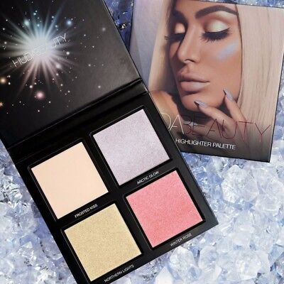 Huda Beauty Winter Solstice Highlighter Palette from Winter Solstice Collection