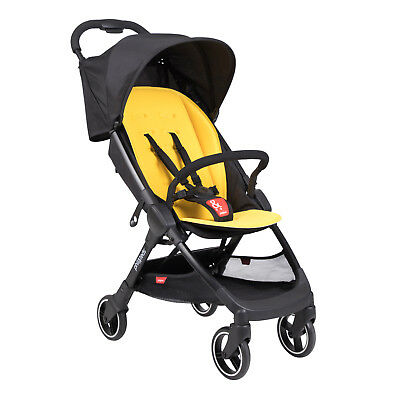 Phil & Teds Go Stroller in Lemon Brand New!! Free Shipping! Weighs only 11 lbs