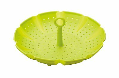 KitchenCraft Healthy Eating Silicone Food Steamer Basket, 24 cm 9.5""