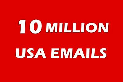 10 Million USA email List for Marketing & Business