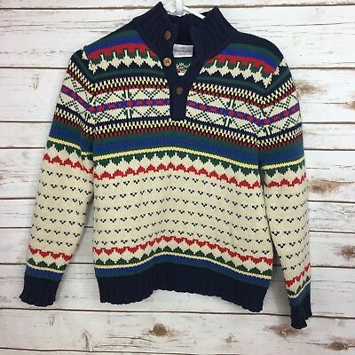 Hanna Andersson Boys Girls Size 150/US 12 Winter Sweater