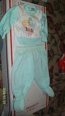FITS CABBAGE PATCH SOFT SCULPTURE BABY doll CLOTHES