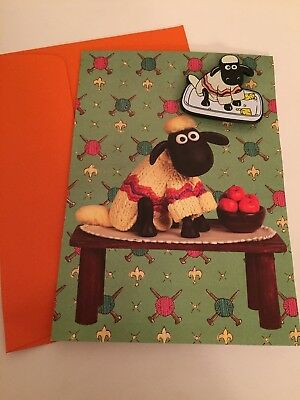 wallace and gromit-GreetingCard w/Magnet Rare
