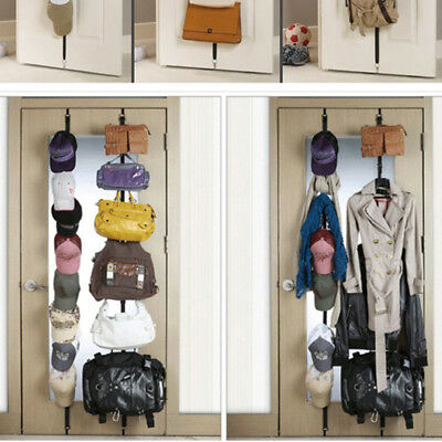 2X8 Hangers Door Vertical Hanging Organizer - Perfect for Hats, Bags, Scarf