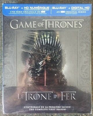 ** Game of Thrones: The Complete First Season, Blu-ray Disc, brand new, sealed!