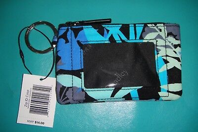 "Vera Bradley  Zip Id Case ""camofloral"" Retired Pattern  New With Tags! $14"