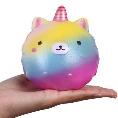 US Jumbo Kawaii Squishies Slow Rising Toys Creamy Scent Squeeze Funny Toys Gift