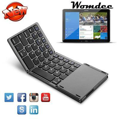 Rechargeable Wireless Bluetooth Keyboard Touchpad For Smartphone