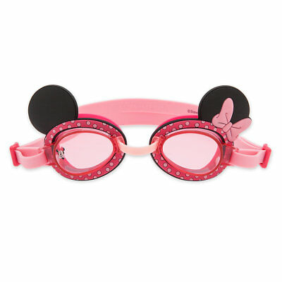 Disney Store Minnie Mouse Kids Swim Goggles New Kids Swimwear Gift New !