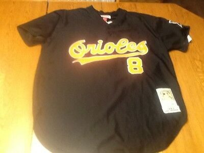 new style 87f4d b3c49 MITCHELL & NESS cooperstown collection cal ripken jr baltimore orioles  jersey