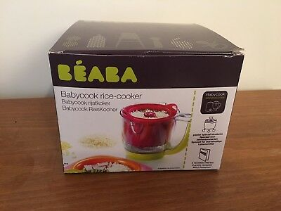 Beaba Babcock Rice Cooker - Red - NEW
