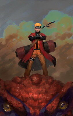 "324 Naruto - Last Uzumaki NINJA Fighting Japan Anime 14""x22"" poster"