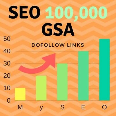 SEO 100,000 GSA Do follow Links for Boosting Ranking in Google Search