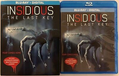 Insidious The Last Key Blu Ray + Slipcover Sleeve Free World Wide Shipping Buyit