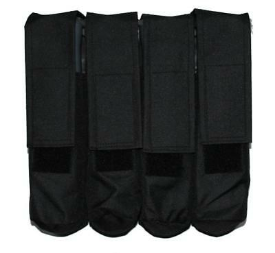 4 Pod Paintball Molle Battlepack Schwarz Battle Pack Gotcha Paintballs