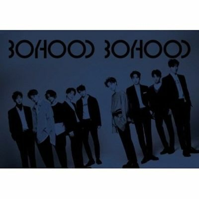 UNB - [BOYHOOD] 1st Mini Album CD+Booklet+PhotoCard K-POP Seal