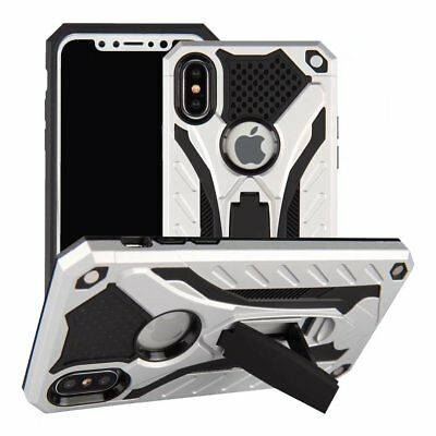 Luxury Hybrid Armor Shockproof Case Stand Cover For Apple iPhone X 6 6S 7 8 Plus