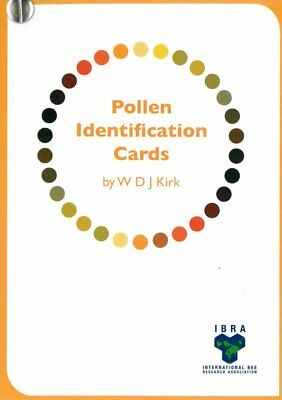 Beekeeping Pollen Identification Cards FREE P&P