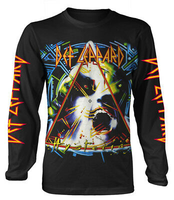 Def Leppard 'Hysteria' Long Sleeve Shirt - NEW & OFFICIAL!