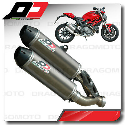 DUCATI MONSTER 1100 EVO 2011 2012 Pot Echappement QD Titane
