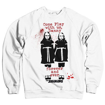 Officially Licensed The Shining - Come Play Sweatshirt S-XXL Sizes