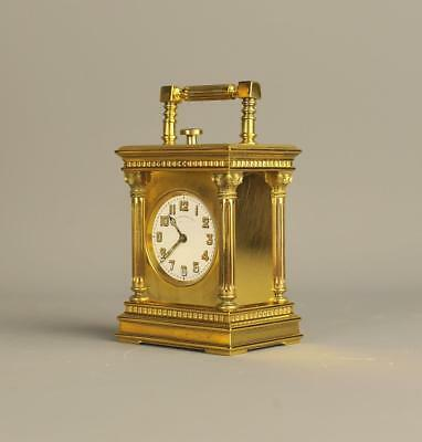 Minute Repeating Miniature Carriage Clock