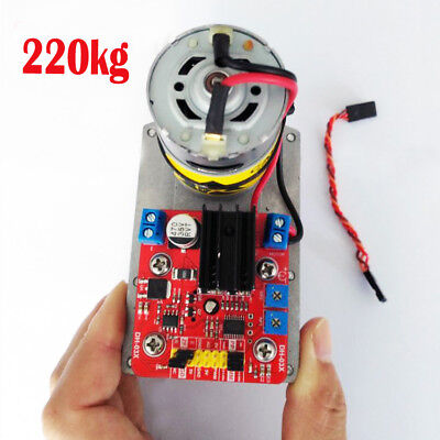 1PC 12-24V 220kg.cm ASME-03B High Torque Alloy Servo for Large Robot Arm