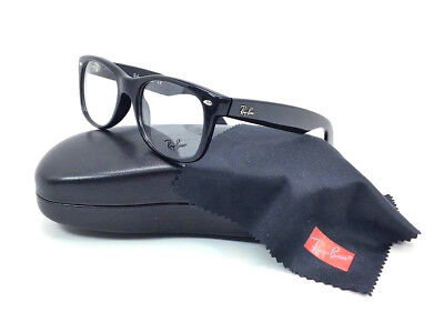 2504902ee5 RAY BAN RX5184 2000 Shiny Black   Demonstration Lens 52mm Eyeglasses ...