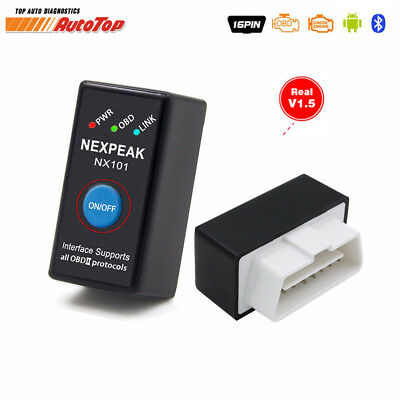 Brand New Car Scanner Obd Bluetooth Adapter Car Code Reader Scan Tool Fixd