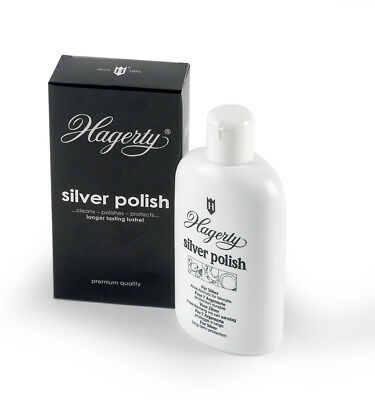 Hagerty Silver Polish lozione crema detergente lucida Argento Cleaning solution