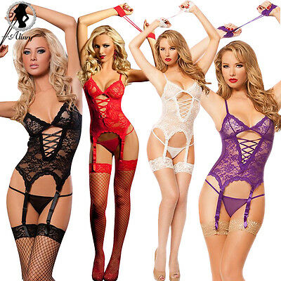 Women Sexy/Sissy Lingerie Erotic pole dance Cosplay Costume (INT)