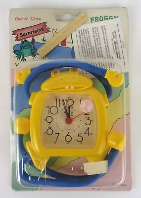 froggy orologio snodabile, new old stock, anni 90, made in italy