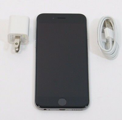 Very Good Used Apple iPhone 6 16GB Unlocked GSM AT&T T-Mobile Space Gray A1549