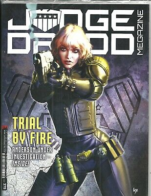 Judge Dredd Megazine # 379 (Trial By Fire Sealed With Supplement, 17 Jan 17) New