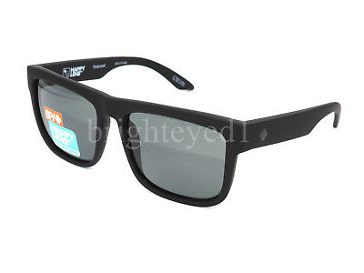 Authentic SPY Discord Polarized Soft Matte Black Sunglasses 673119973864 *NEW*
