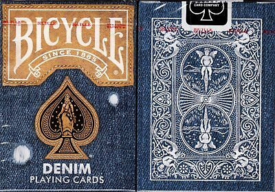 Denim v2 Bicycle Playing Cards Poker Size Deck USPCC Custom Limited Edition New
